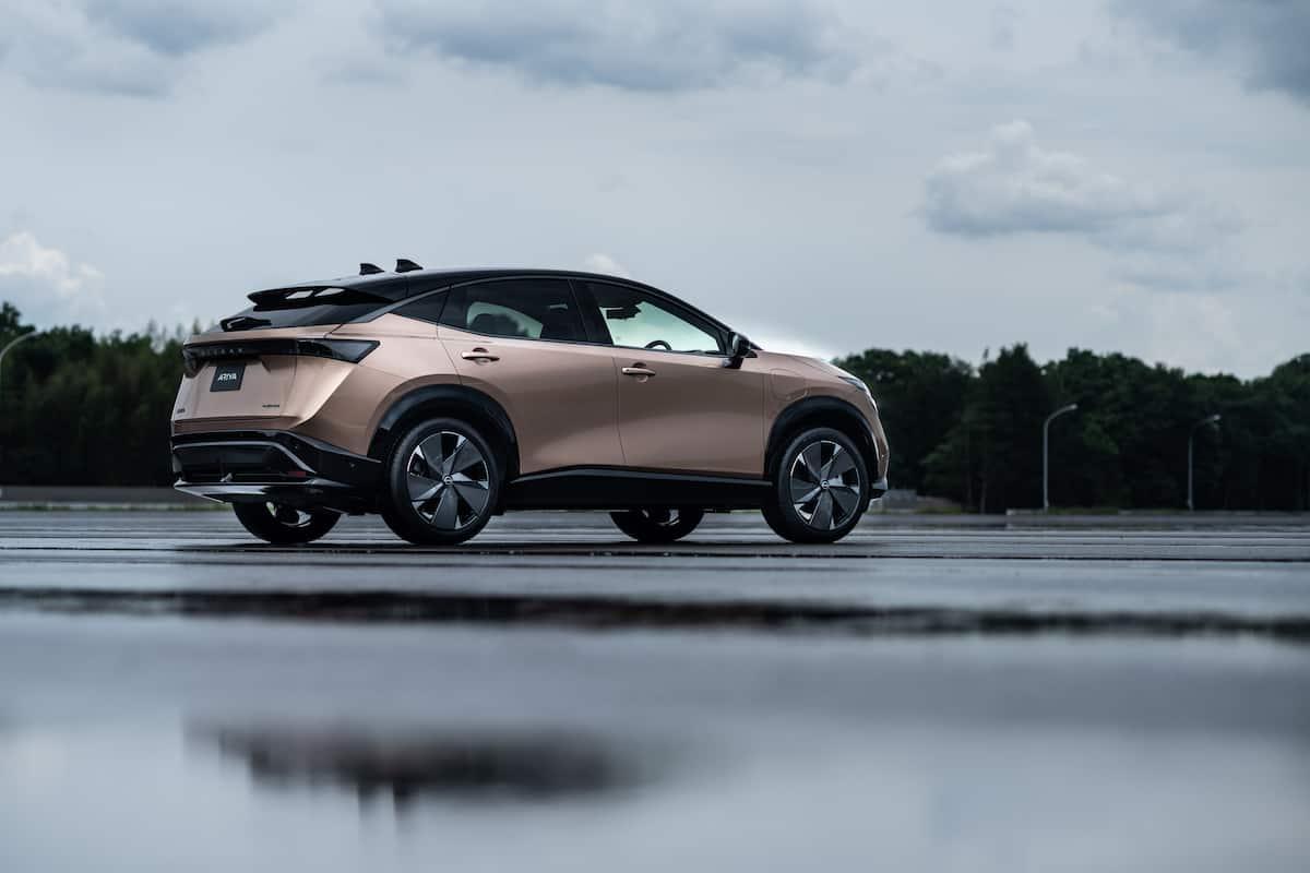 2022 Nissan Ariya all electric suv 18