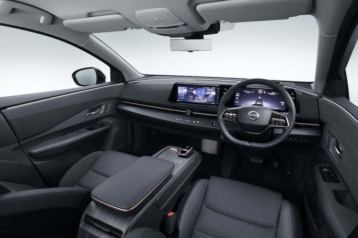 2022 Nissan Ariya all electric suv 4