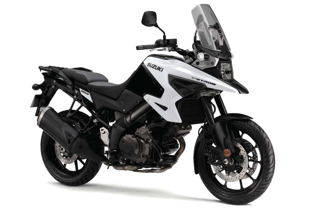 2020 Suzuki V-Strom 1050 front white