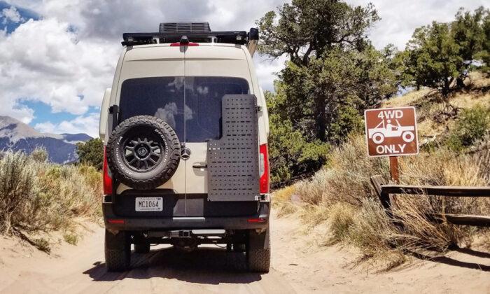 Beast MODE 4x4 Sprinter Van for sale rear