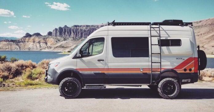 Beast MODE 4x4 Sprinter Van for sale side view