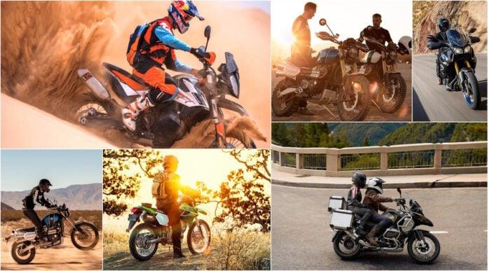 best adventure motorcycles tractionlife