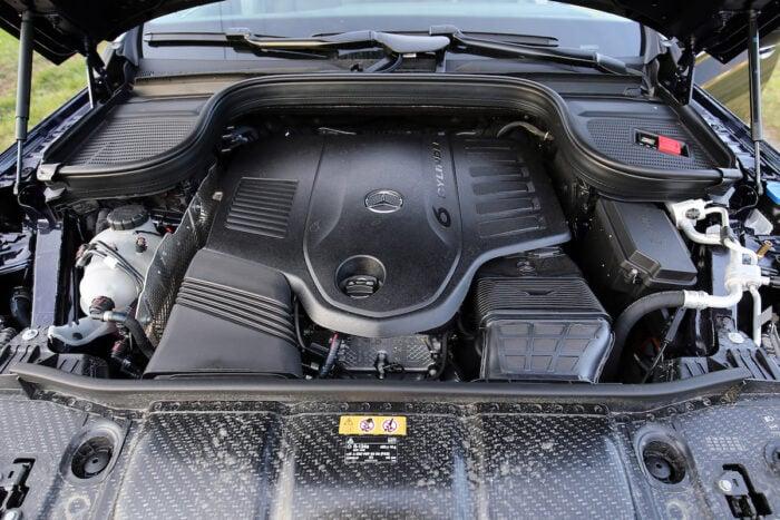 2020 Mercedes-Benz GLS450 4Matic engine
