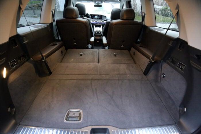 2020 Mercedes-Benz GLS450 4Matic cargo space rear
