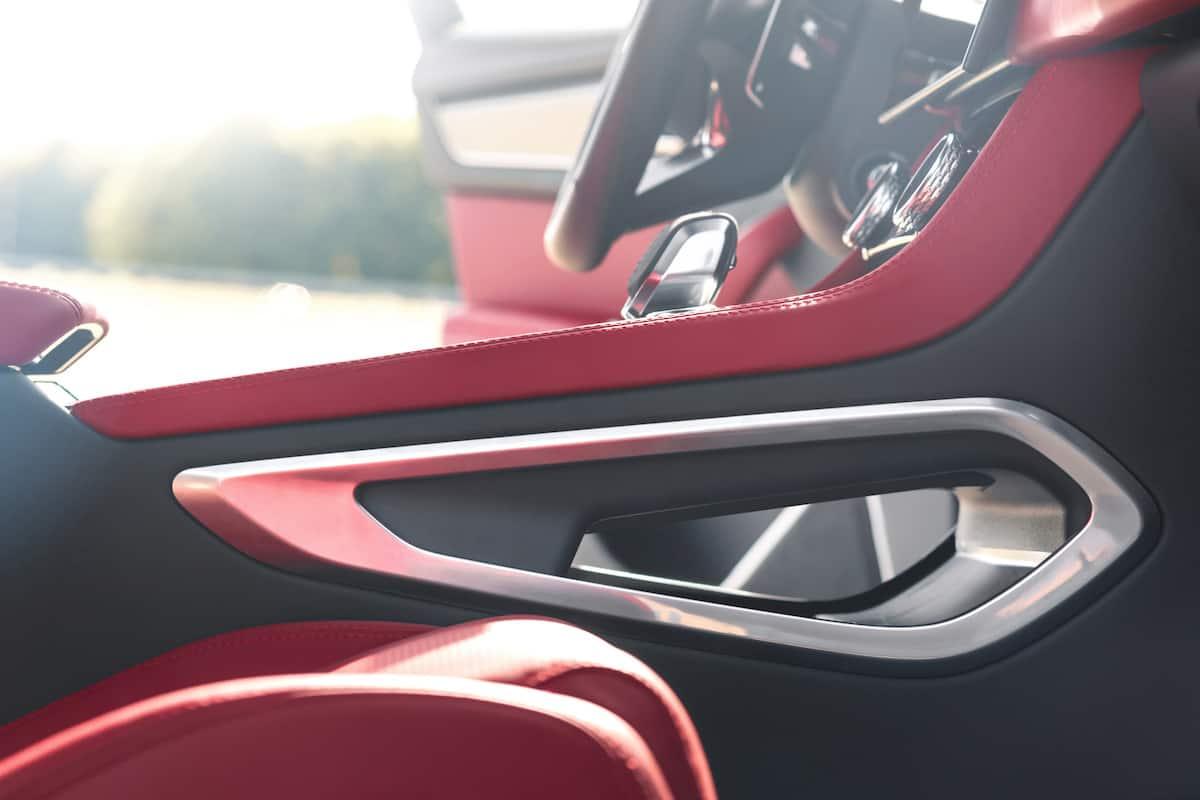 2021 Jaguar F-PACE Interior 12