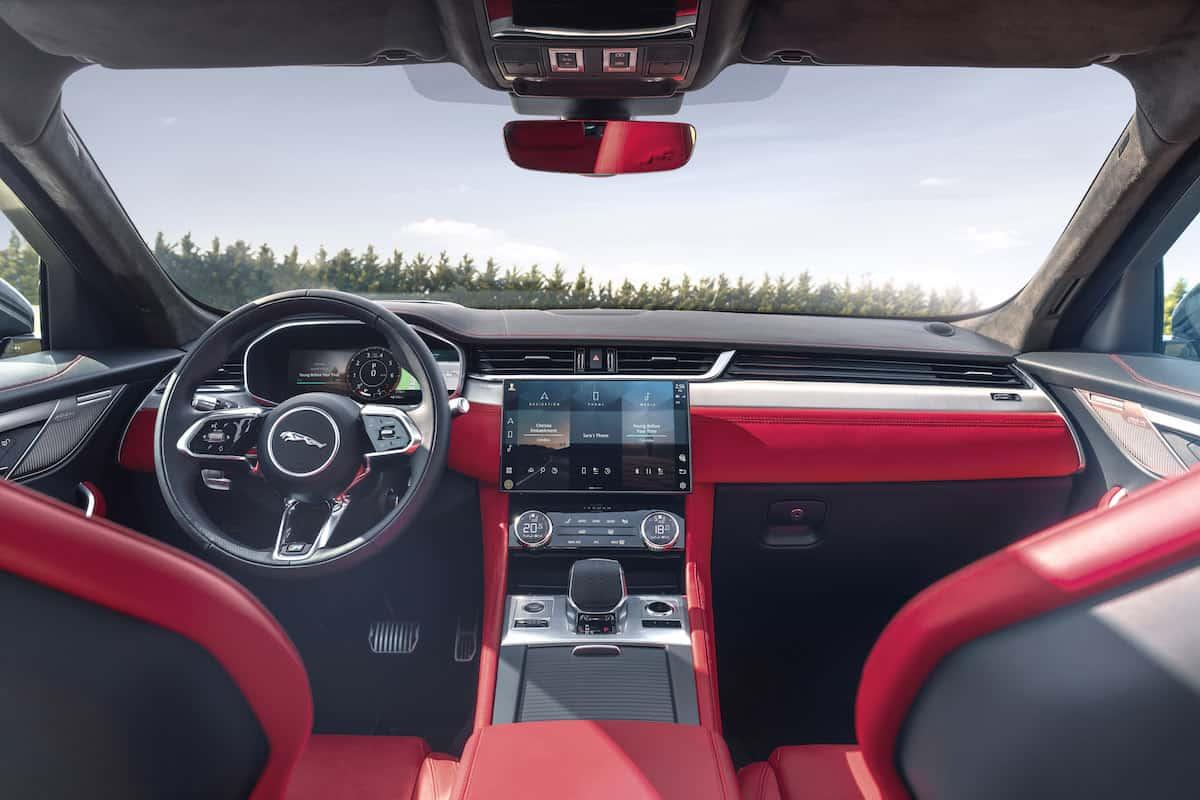 2021 Jaguar F-PACE Interior 14