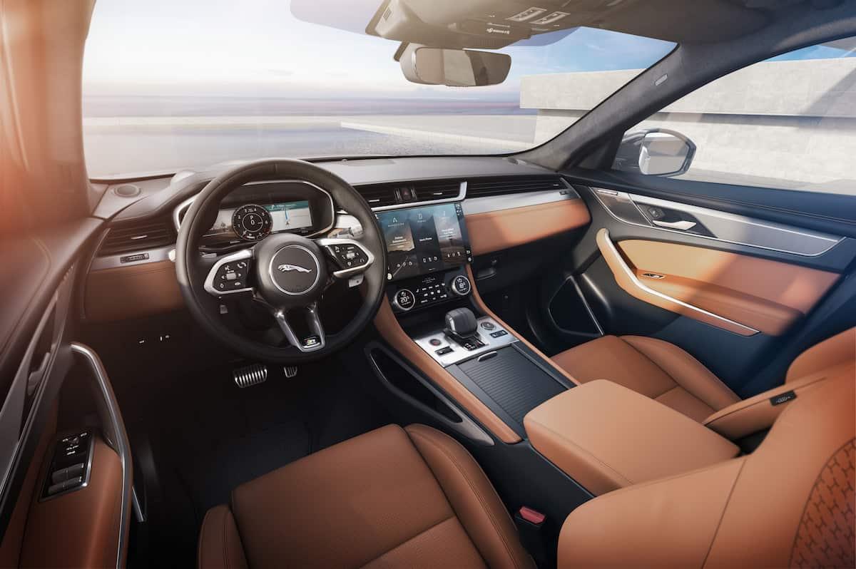 2021 Jaguar F-PACE Interior 2