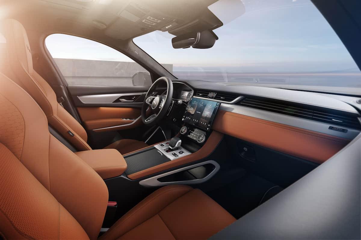2021 Jaguar F-PACE Interior 4