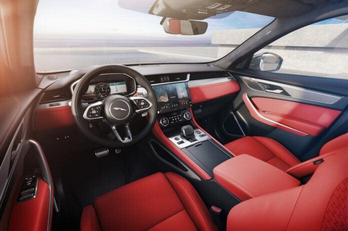 2021 Jaguar F-PACE Interior