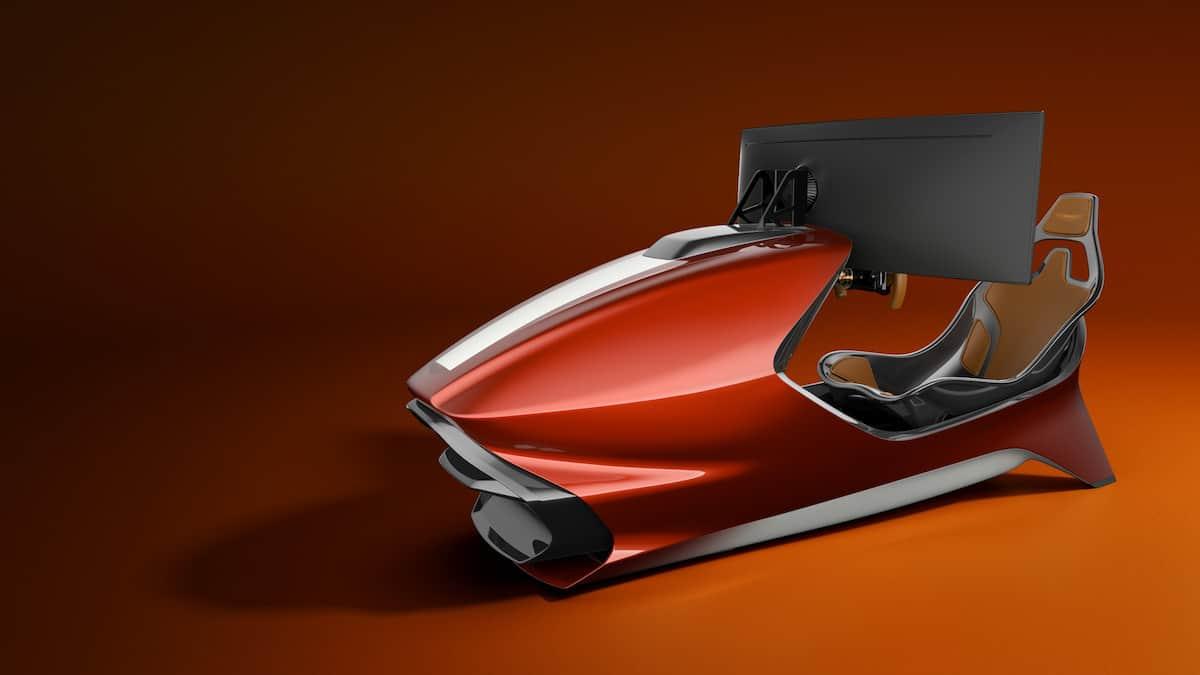 Aston Martin AMR-C01 Racing Simulator Cockpit 10