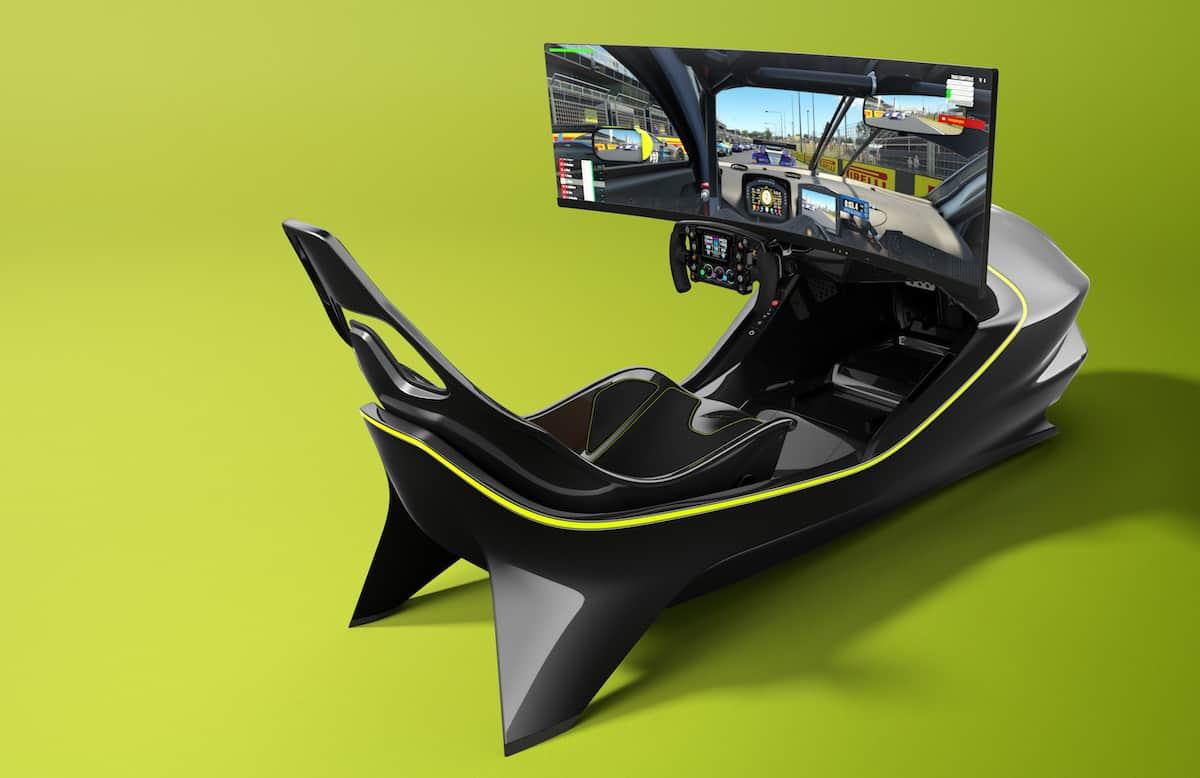 Aston Martin AMR-C01 Racing Simulator Cockpit 15