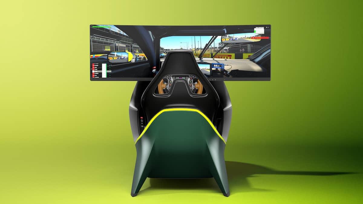 Aston Martin AMR-C01 Racing Simulator Cockpit 17