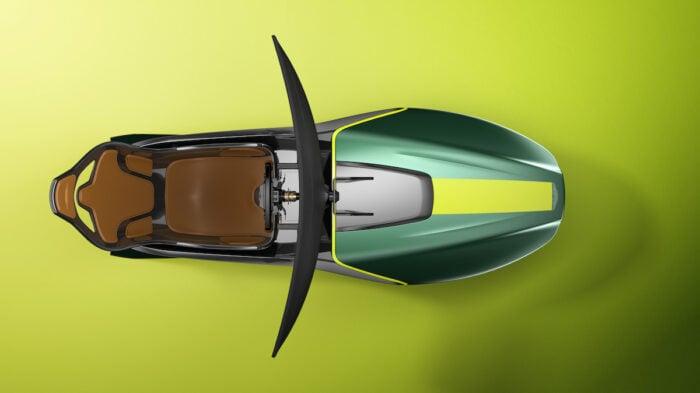 Aston Martin AMR-C01 Racing Simulator Cockpit top view
