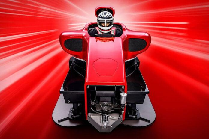 UK-based Cranfield Simulation's Full Motion + G-Force Formula 1 Simulator