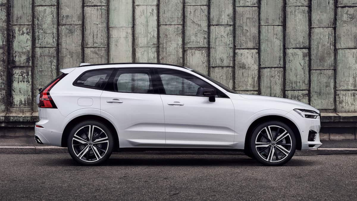 XC60 R-Design, in Crystal White Pearl