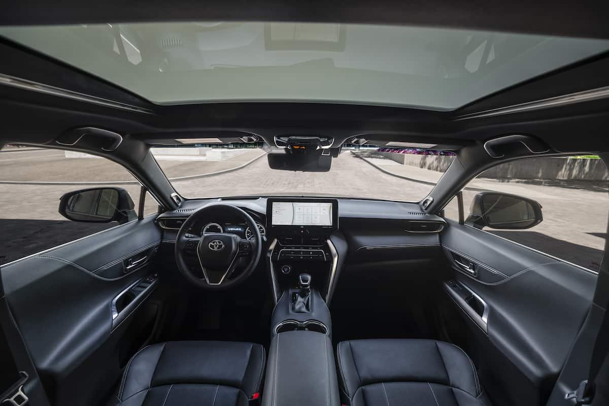 2021 Toyota Venza interior front cabin