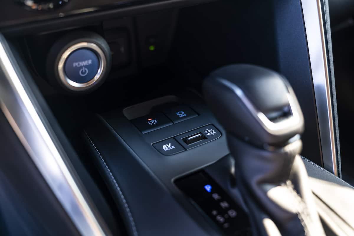 2021 Toyota Venza shifter