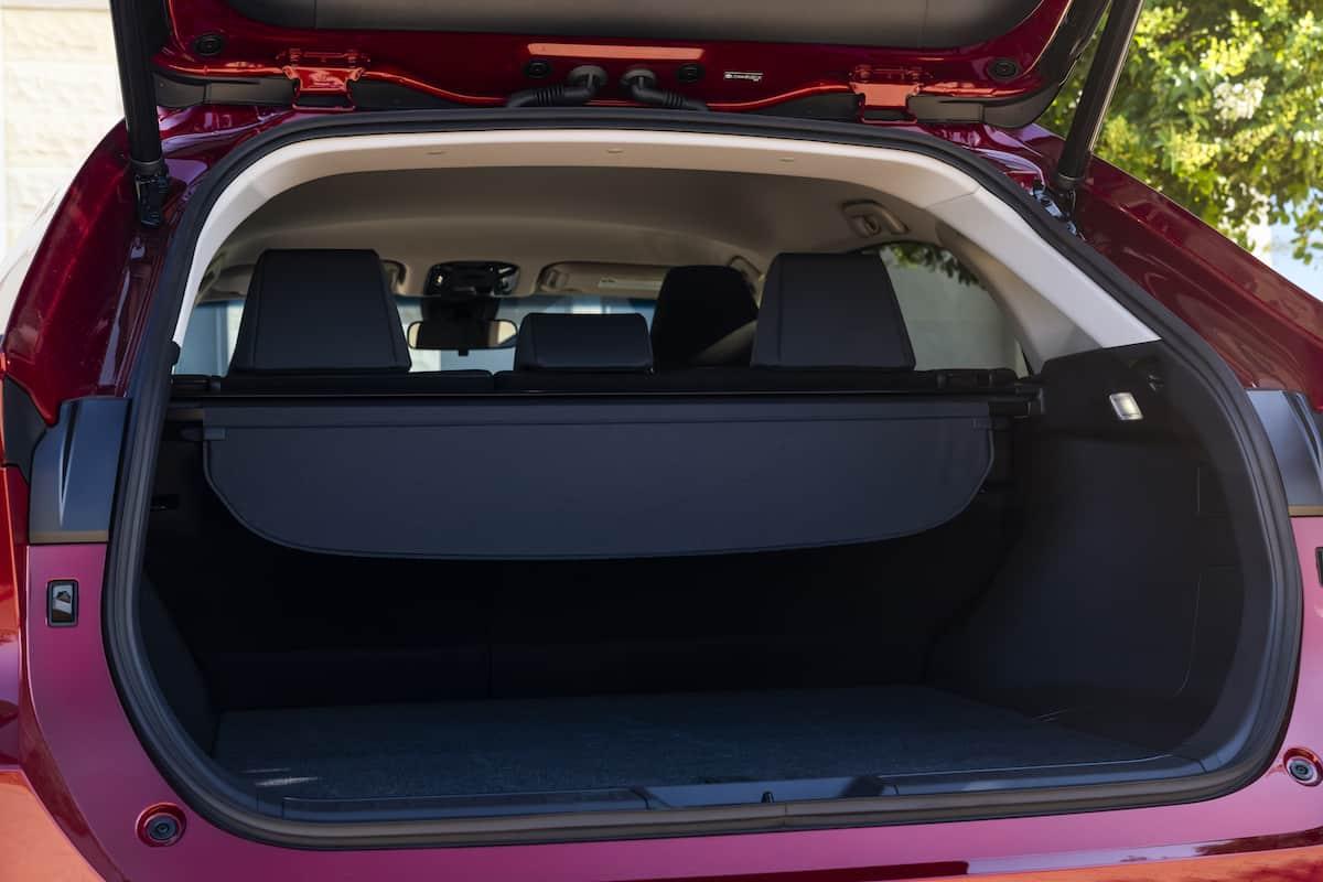 2021 Toyota Venza trunk