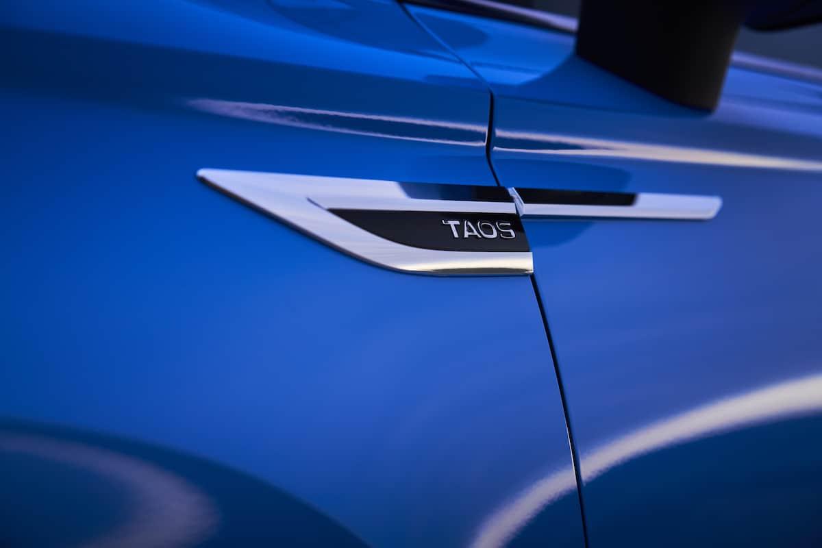 2022 VW Taos compact SUV 2