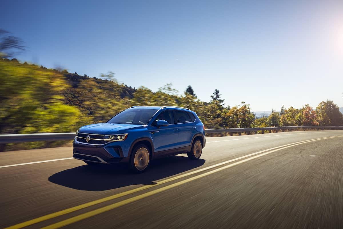 2022 VW Taos compact SUV 27