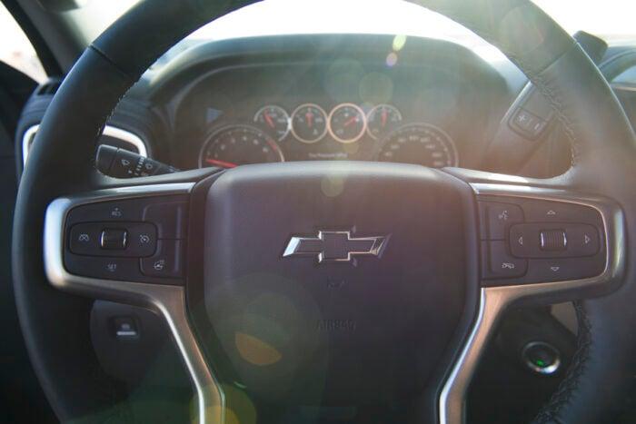 2020 Chevy Silverado Trail Boss Midnight Edition interior
