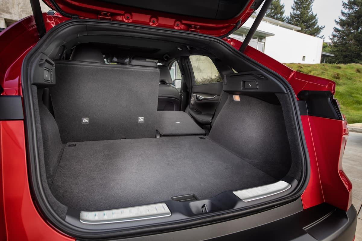 2021 Infiniti QX55 coupe SUV interior1