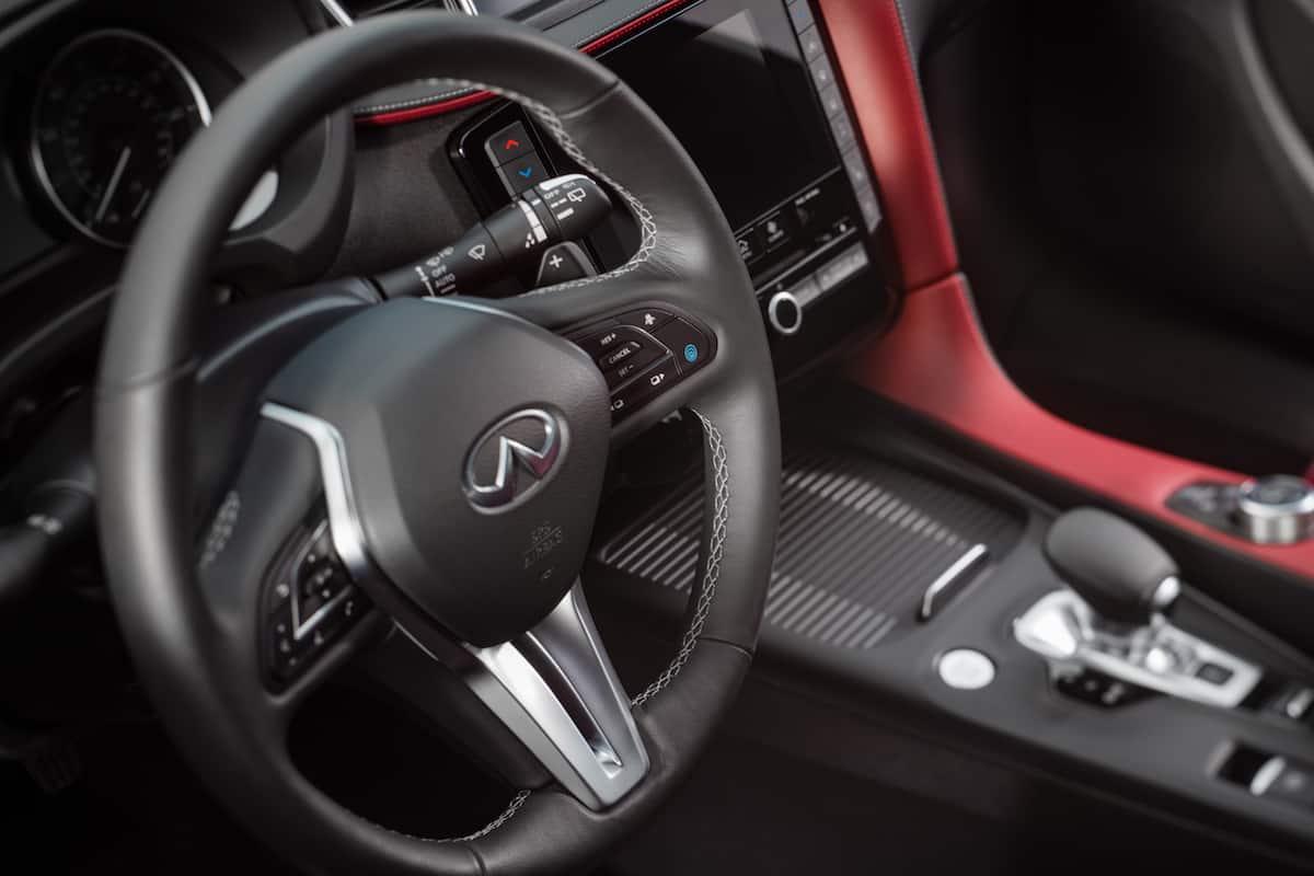 2021 Infiniti QX55 coupe SUV interior4