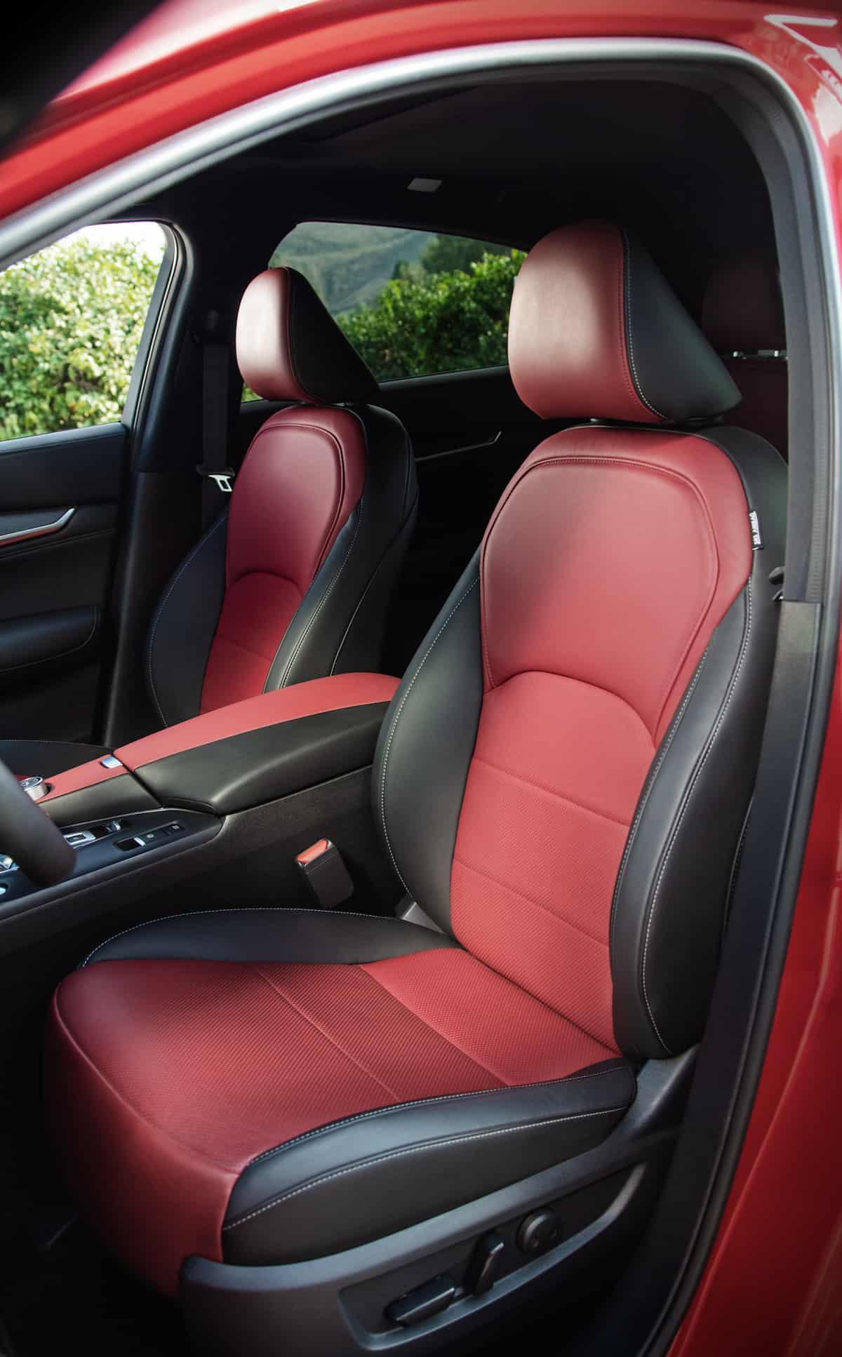 2021 Infiniti QX55 coupe SUV interior7