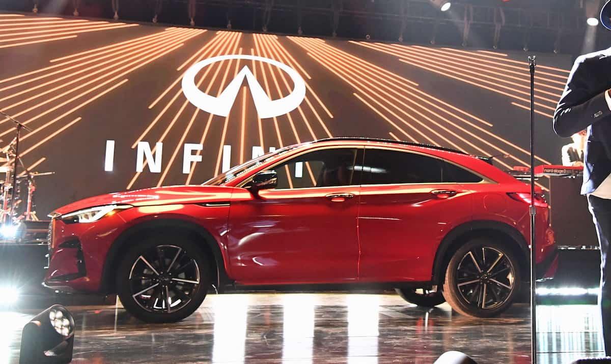 2021 Infiniti QX55 SUV. Photo: Infiniti