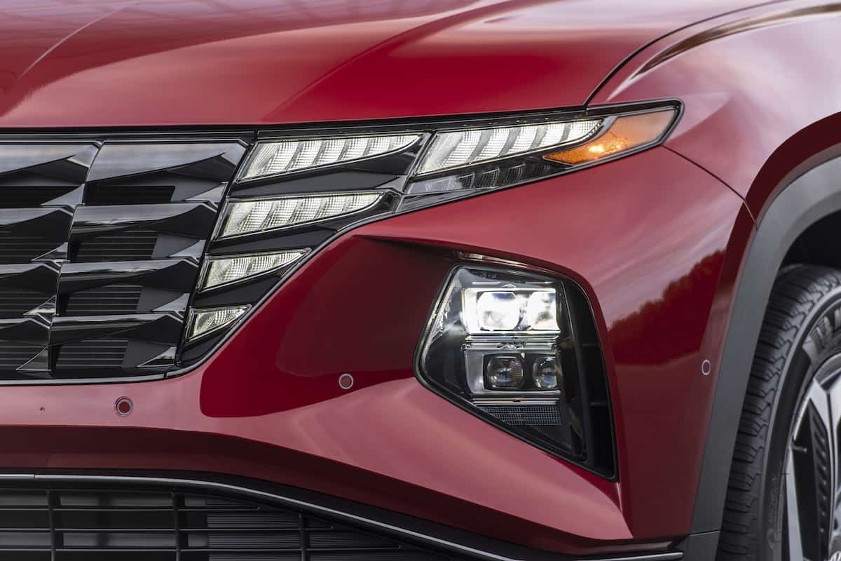2022 Hyundai Tucson front grill