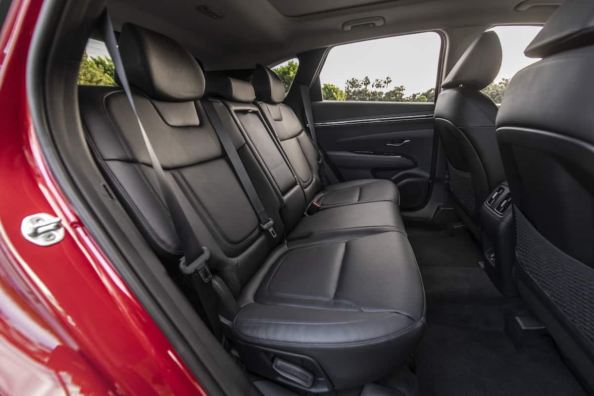 2022 Hyundai Tucson rear seats