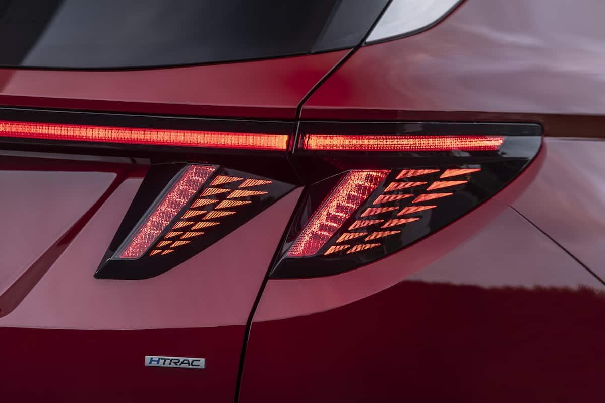 2022 Hyundai Tucson rear taillight