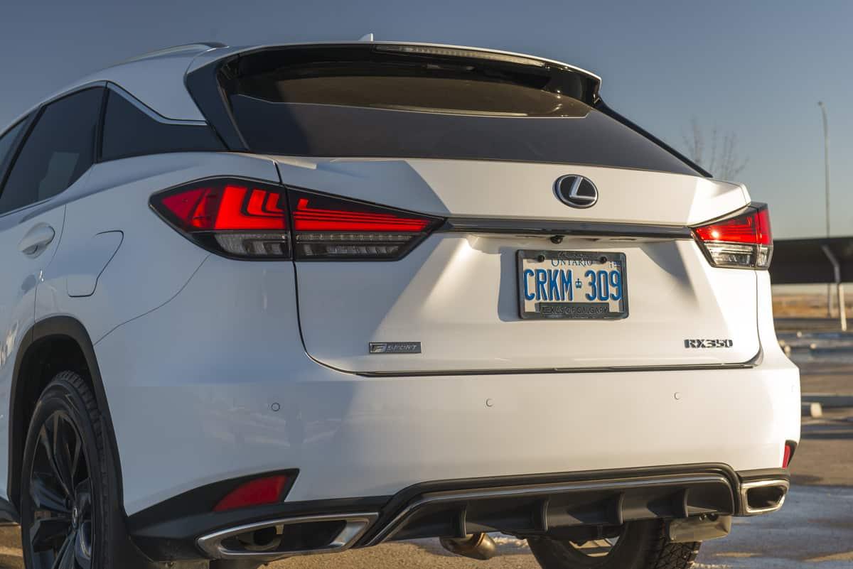 2021 Lexus RX 350 Black Line (8 of 17)