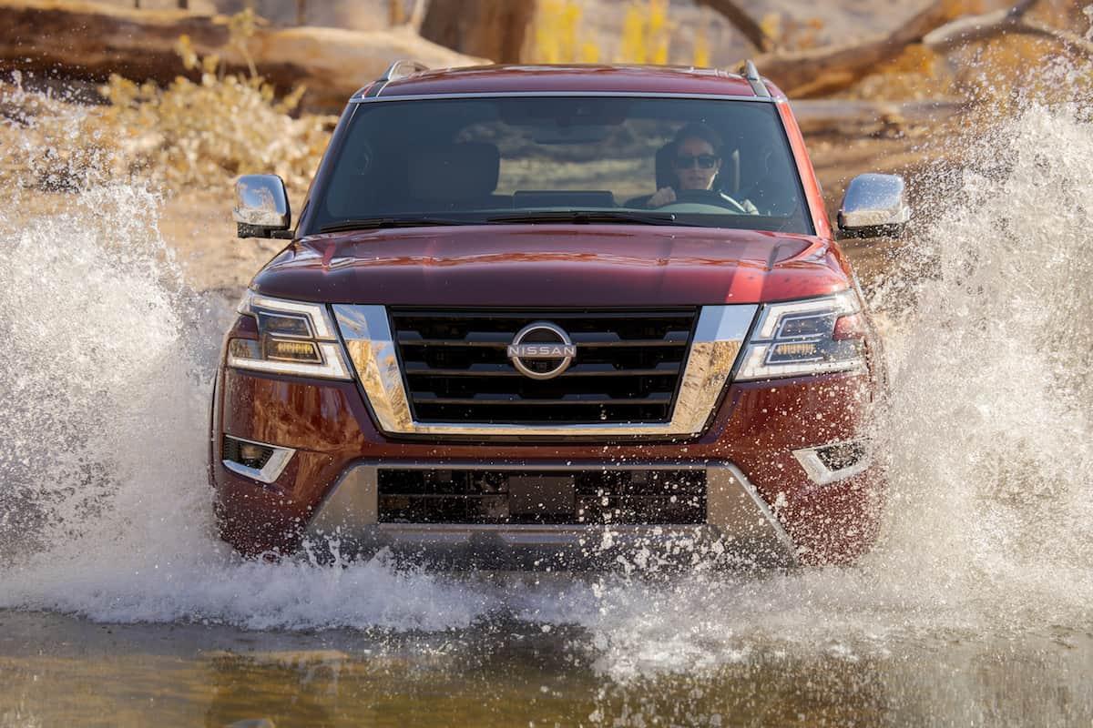 2021 Nissan Armada SUV update