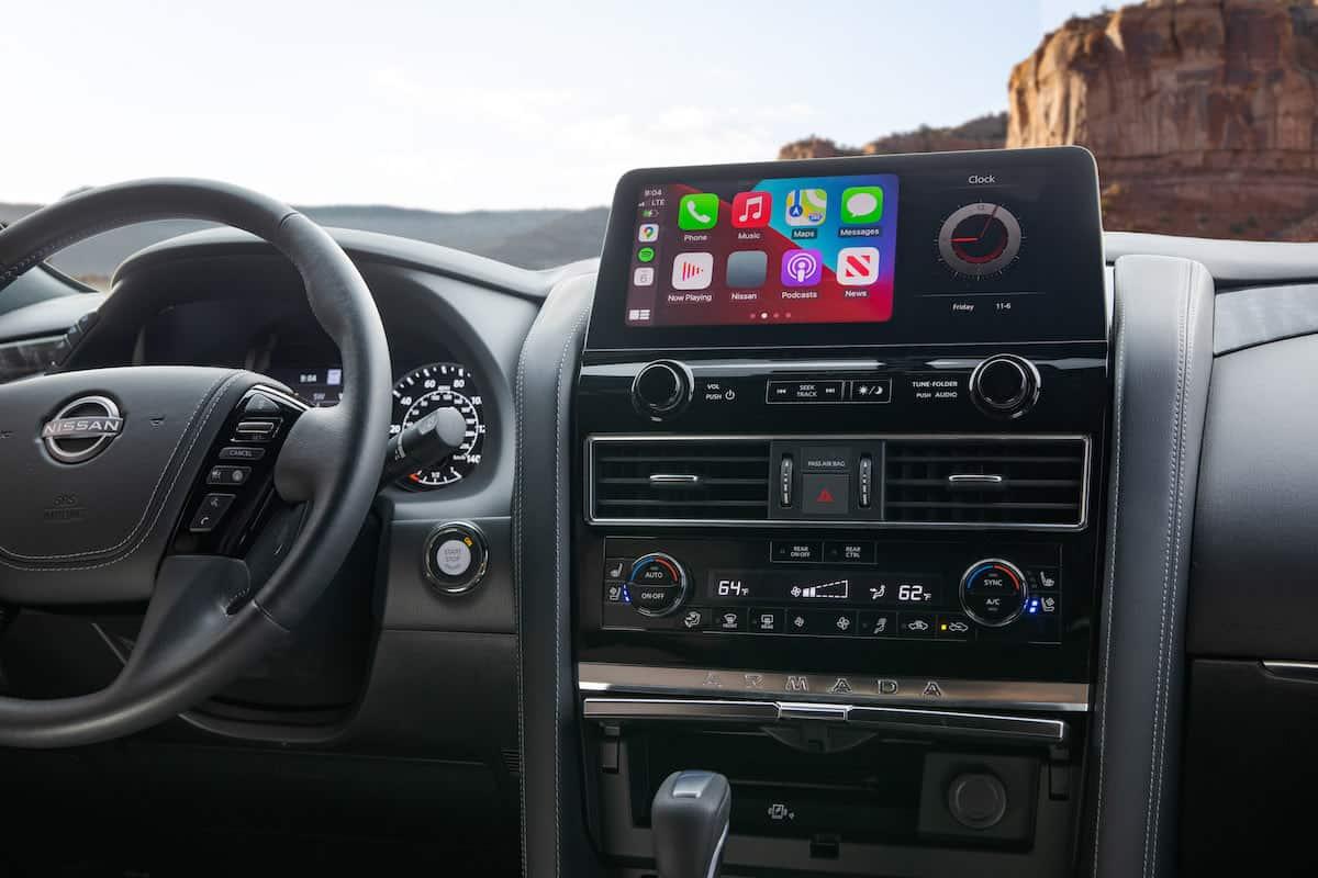 2021 Nissan Armada SUV interior