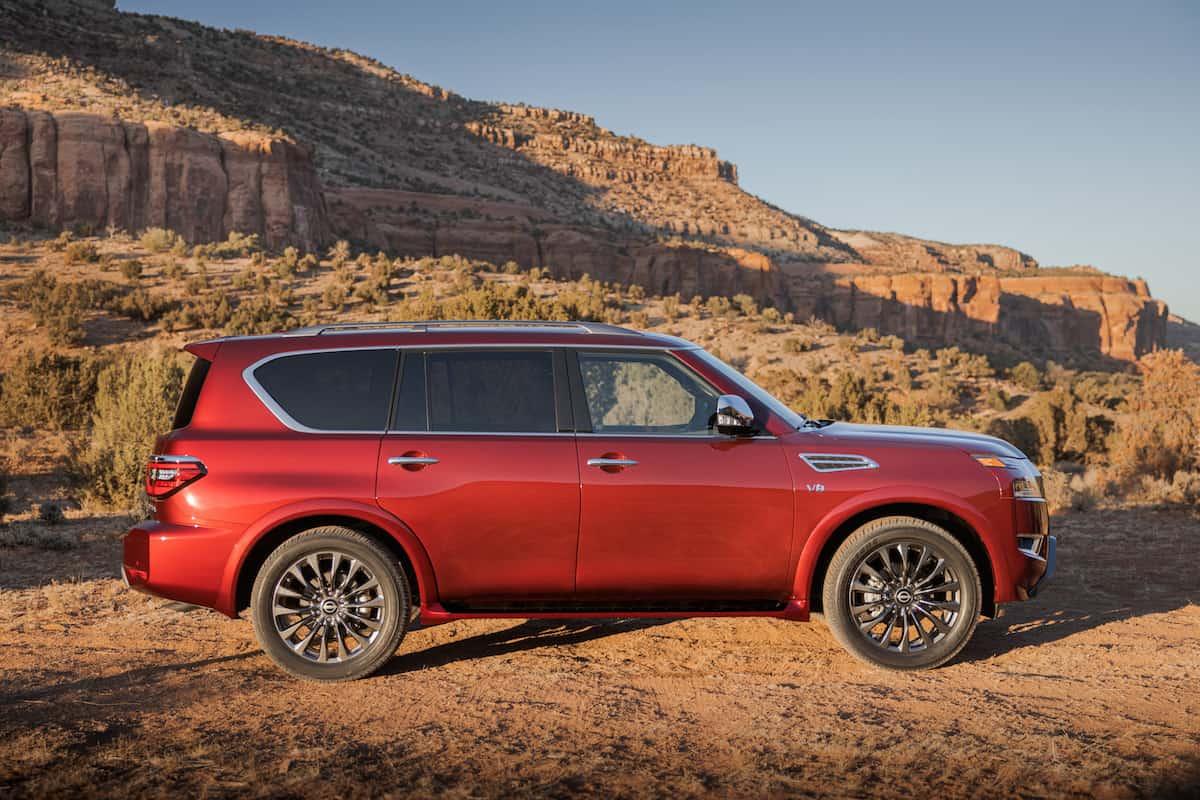 2021 Nissan Armada SUV update 32