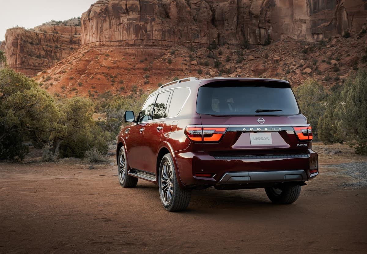 2021 Nissan Armada SUV exterior updates