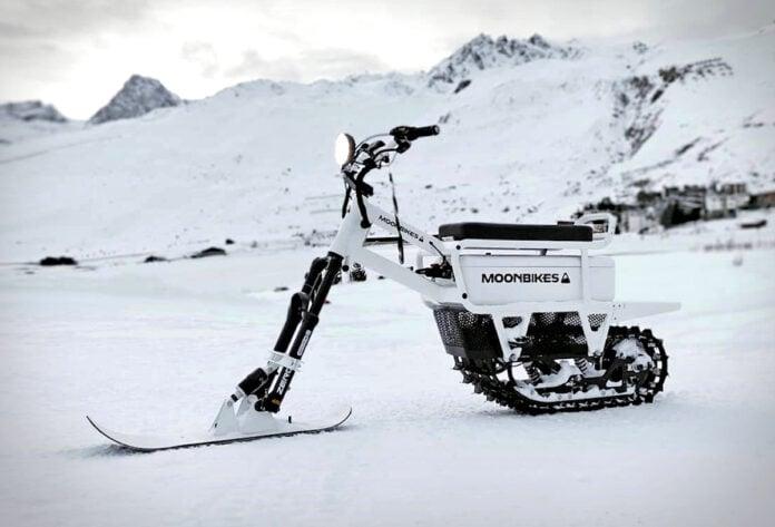 moonbikes electric snow bikes