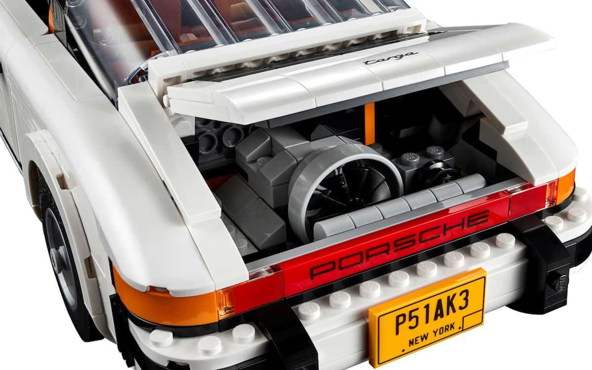 lego creator porsche 911 turbo targa set engine