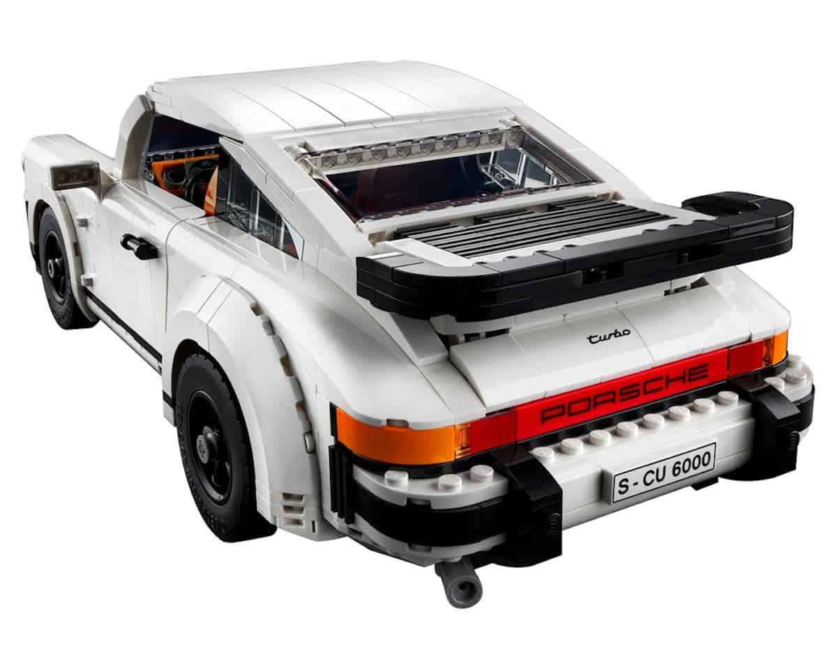 lego creator porsche 911 turbo targa set rear
