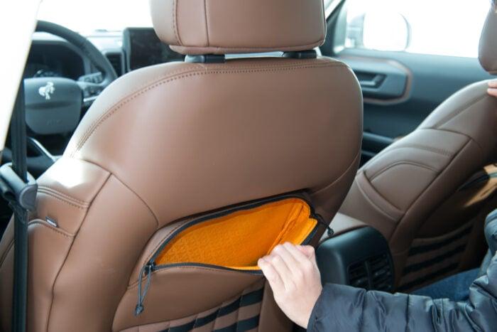 2021 Ford Bronco Sport Badlands interior