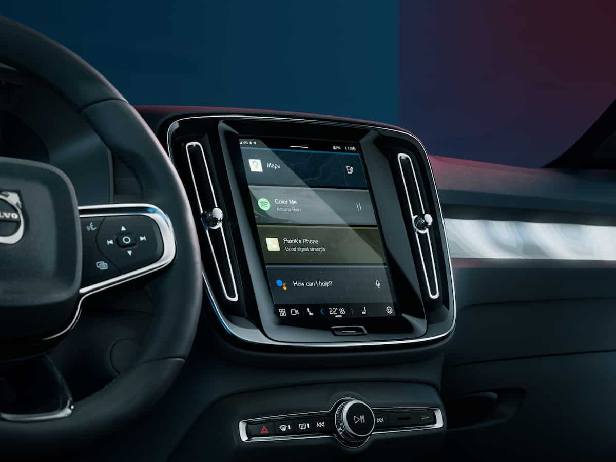 2022 Volvo C40 Recharge interior