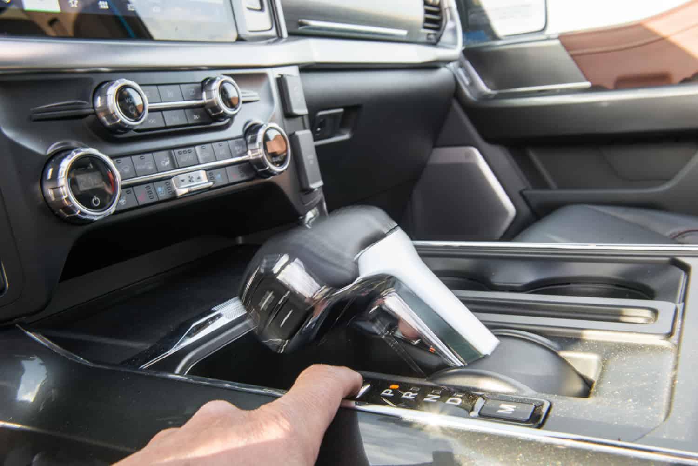 2021 Ford F-150 interior