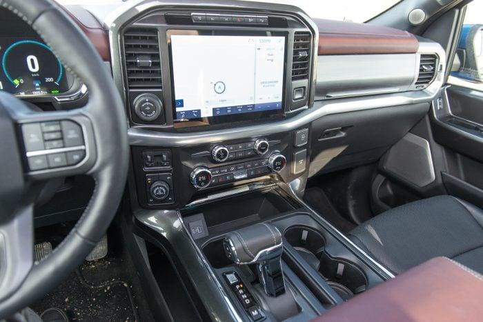 2021 Ford F-150 Lariat Hybrid interior