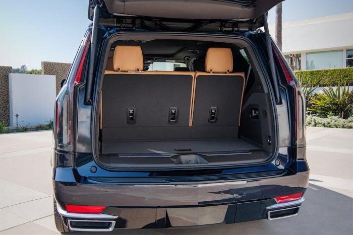 2021 Cadillac Escalade Premium Luxury Platinum interior