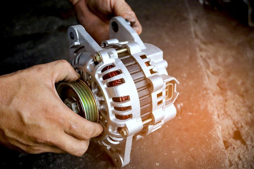 what is a car alternator