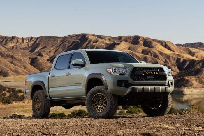 2022 Toyota Tacoma Trail Edition 4×4