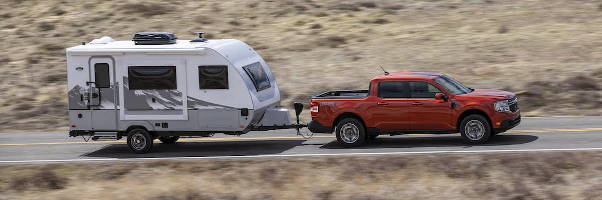 2022 Ford Maverick towing capacity