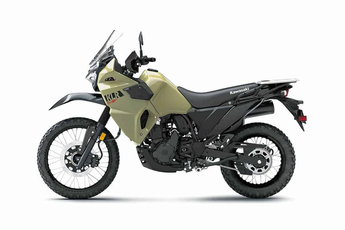 2022 Kawasaki KLR650 4